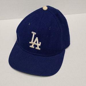 LA Dodgers sports specialties wool fitted hat